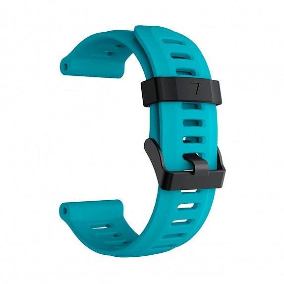 Силиконовый ремешок для GARMIN Universal 26 Smooth Silicone Band Teal