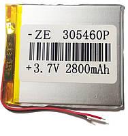 Аккумулятор универсальный 305460 5.4 cm х 6 cm 3.7v 3000 mAh
