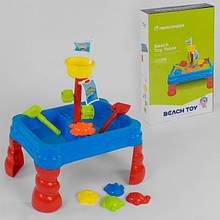 Столик детский для игр с песком и водой 107 8