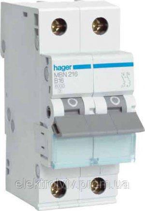 Автомат Hager C 2/32