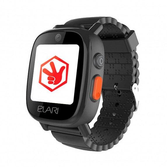 Детские часы-телефон с GPS/LBS/WIFI трекером FIXITIME 3 Black (ELFIT3BLK)