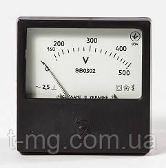 Вольтметр ЭВ0302