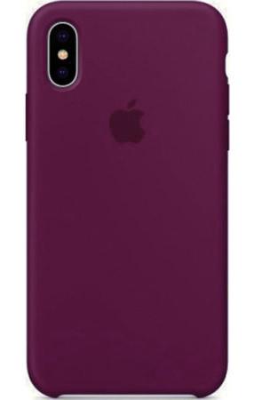 Задняя накладка Hi-Copy Silicone Case APPLE IPHONE X | XS (№52 GRAPE PURPLE)