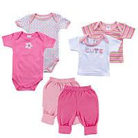 Набор для новорожденной девочки(6 предметов)