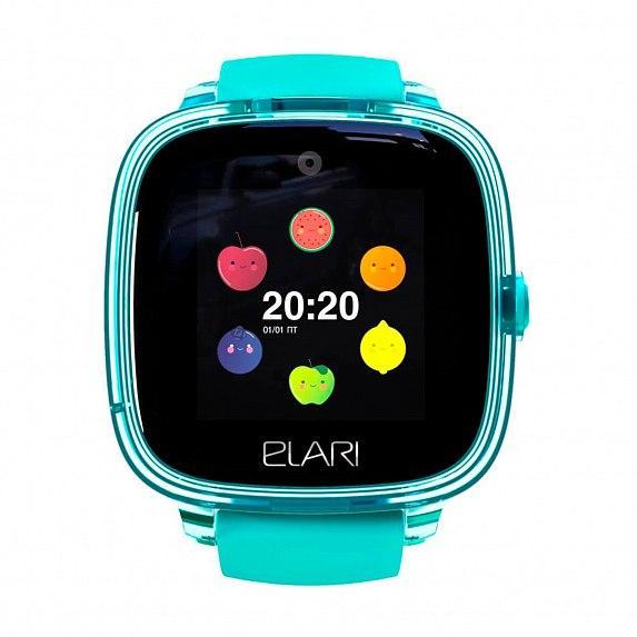Детские смарт-часы Elari KidPhone Fresh Green с GPS-трекером (KP-F/Green)