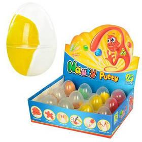 Жвачка для рук MK 0880 ароматиз, 14г, в яйце, 12шт(4цвета)в дисплее 19-15-5,5см цена за штучку
