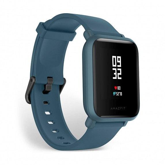 Смарт-часы Amazfit Bip Lite Dark Blue (Международная версия) (A1915DB)