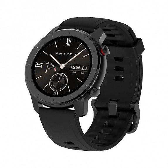 Смарт-часы Amazfit GTR 42mm Starry Black (Международная версия)