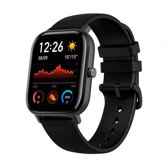 Смарт-часы Amazfit GTS Obsidian Black (Международная версия) (A1914OB)