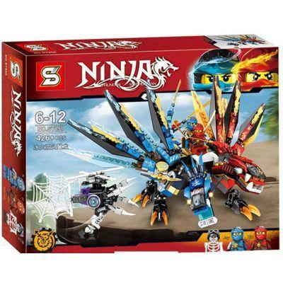 Конструктор SENCO NINJA SY850 (36шт/2) 426дет., в собр.коробке 33*26*6см