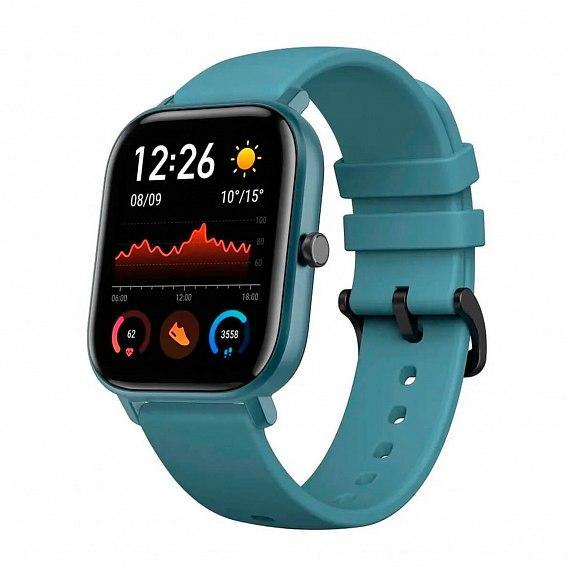 Смарт-часы Amazfit GTS Steel Blue (Международная версия) (A1914SB)