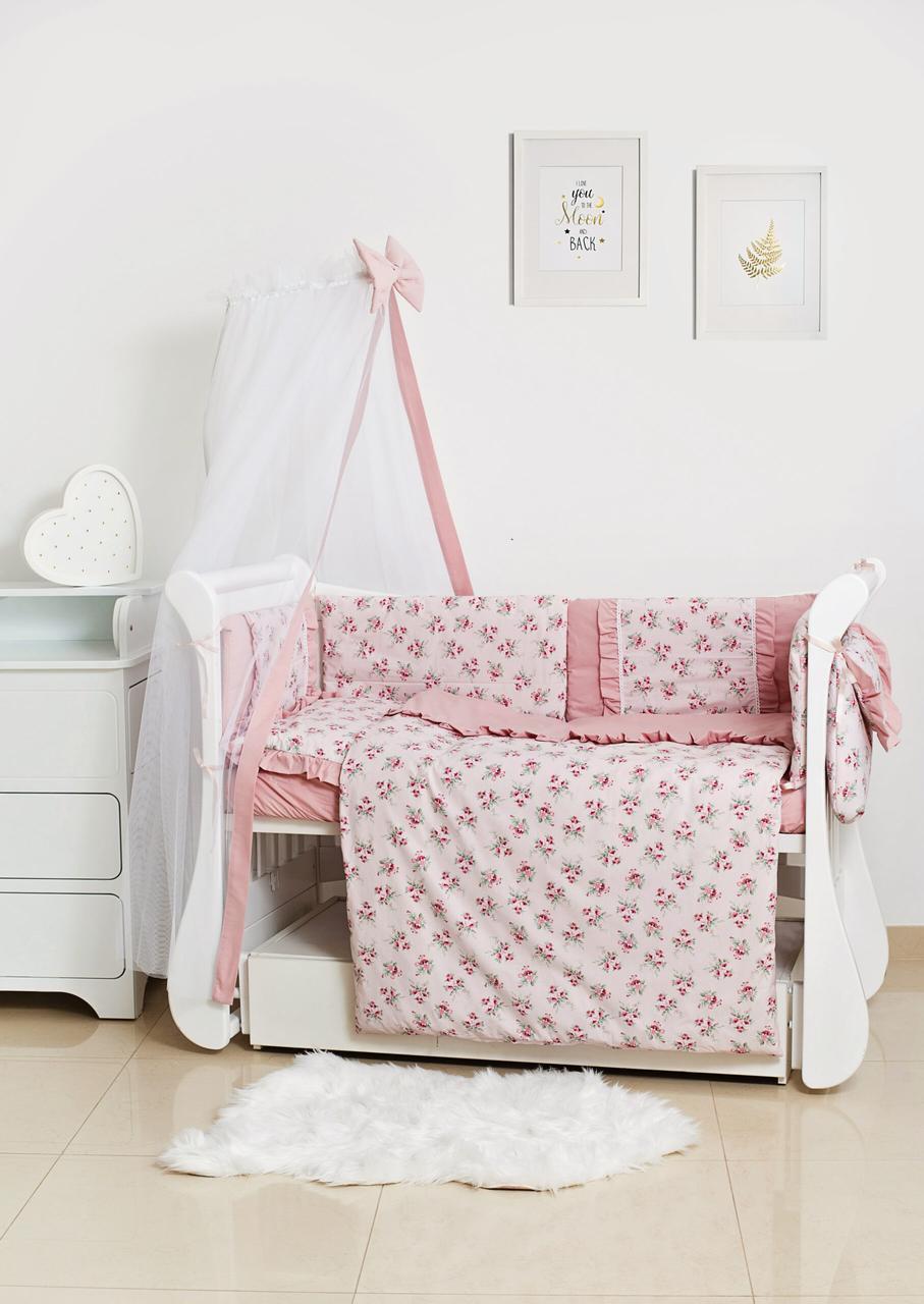 Детское постельное белье Twins Romantik Spring Collection TR-08 Flower 8 эл