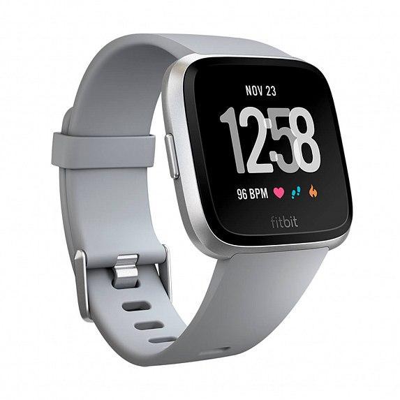 Смарт-часы FITBIT Versa Gray/Silver (FB505SRGY)