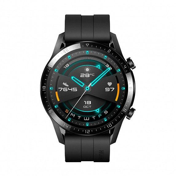 Смарт-часы HUAWEI Watch GT 2 46mm Sport (Latona B19b) Matte Black