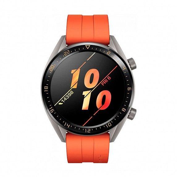 Смарт-часы HUAWEI Watch GT 2 46mm Sport (Latona B19b) Sunset Orange