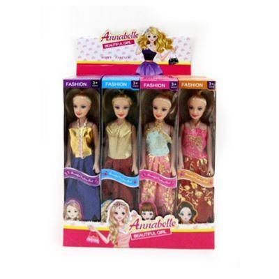 Кукла 1648-1 26см, в кор-ке, 24шт(4вида) в дисплее 29,5-25,5-19 см ЦЕНА ЗА ДИСПЛЕЙ