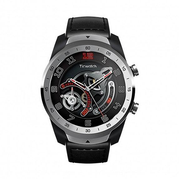 Смарт-часы MOBVOI TicWatch Pro WF12106 Liquid Metal Silver