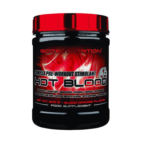 Предтренировочный комплекс Hot Blood 3.0 (300 g) Scitec Nutrition
