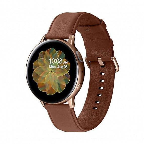 Смарт-часы SAMSUNG Galaxy Watch Active 2 44mm Stainless Steel Gold (SM-R820NSDA)