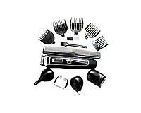 Аккумуляторный Триммер-Машинка для Стрижки Волос Тела, Бороды, Носа, Ушей, Головы Gemei GM 801 5 W