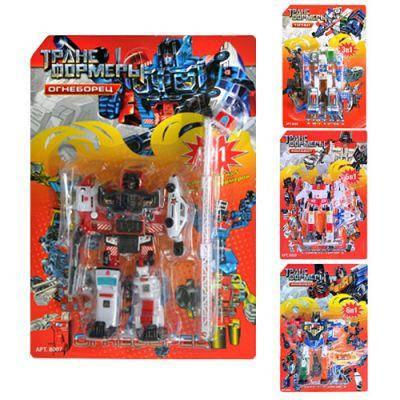 Трансформеры 8007-8015-8020-8028 4 вида 26-18см, фото 2