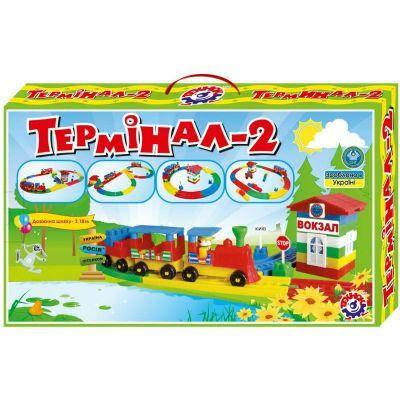 """Конструктор """"Терминал 2 ТехноК"""" 1240 в коробке 52 x 31 x 7.5 см, фото 2"""