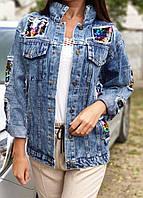 Куртка джинсова, стильна, AR-238