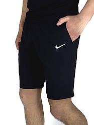 Чоловічі Шорти в стилі Найк/Nike Чорні трикотажні в розмірі S(46) M(48) L (50) XL(52) XXL (54)