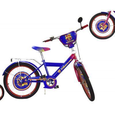 Велосипед 2-х колес 20'' 182008 (1шт) со звонком, зеркалом, руч.тормоз, без доп.колес