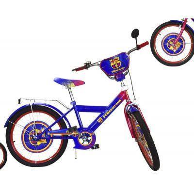 Велосипед 2-х колес 20'' 182008 (1шт) со звонком, зеркалом, руч.тормоз, без доп.колес, фото 2