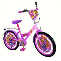 Велосипед 2-х колес 20'' 172041 (1шт) со звонком, зеркалом, руч.тормоз, без доп.колес