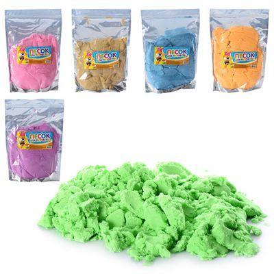 Песок для творчества MK 0468 6 цветов, 1000 г, в кульке 20-29-4см