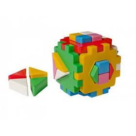 """Игрушка куб """"Умный малыш Домашние животные размер 12-12-12 см 2469 ТЕХНОК"""
