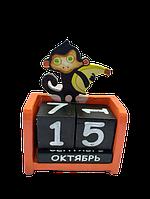 Вечный календарь Обезьянка размер 15*10*5 см