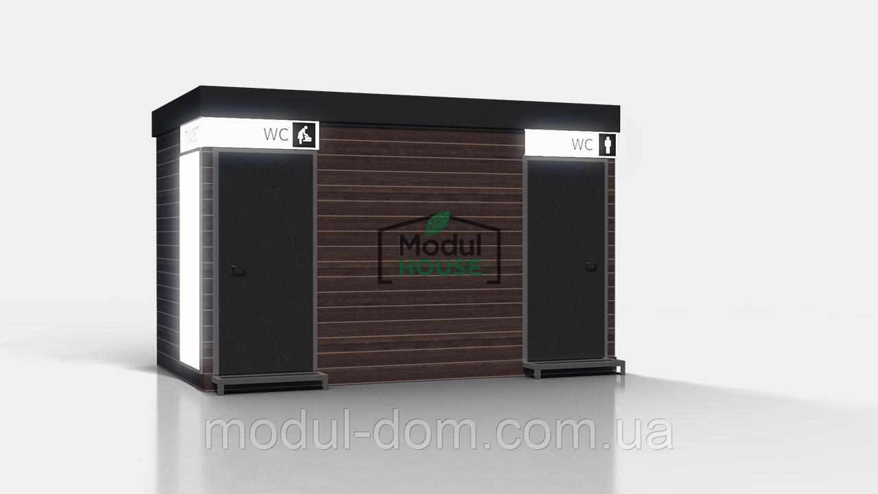 Автономный туалетный модуль, передвижной туалетный модуль