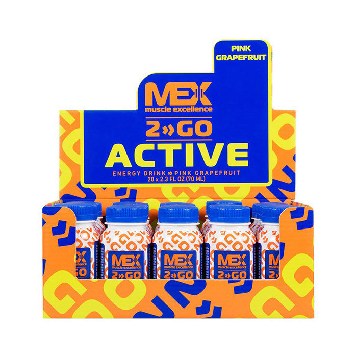 Active Shot (20*70 ml, pink grapefruit) MEX Nutrition