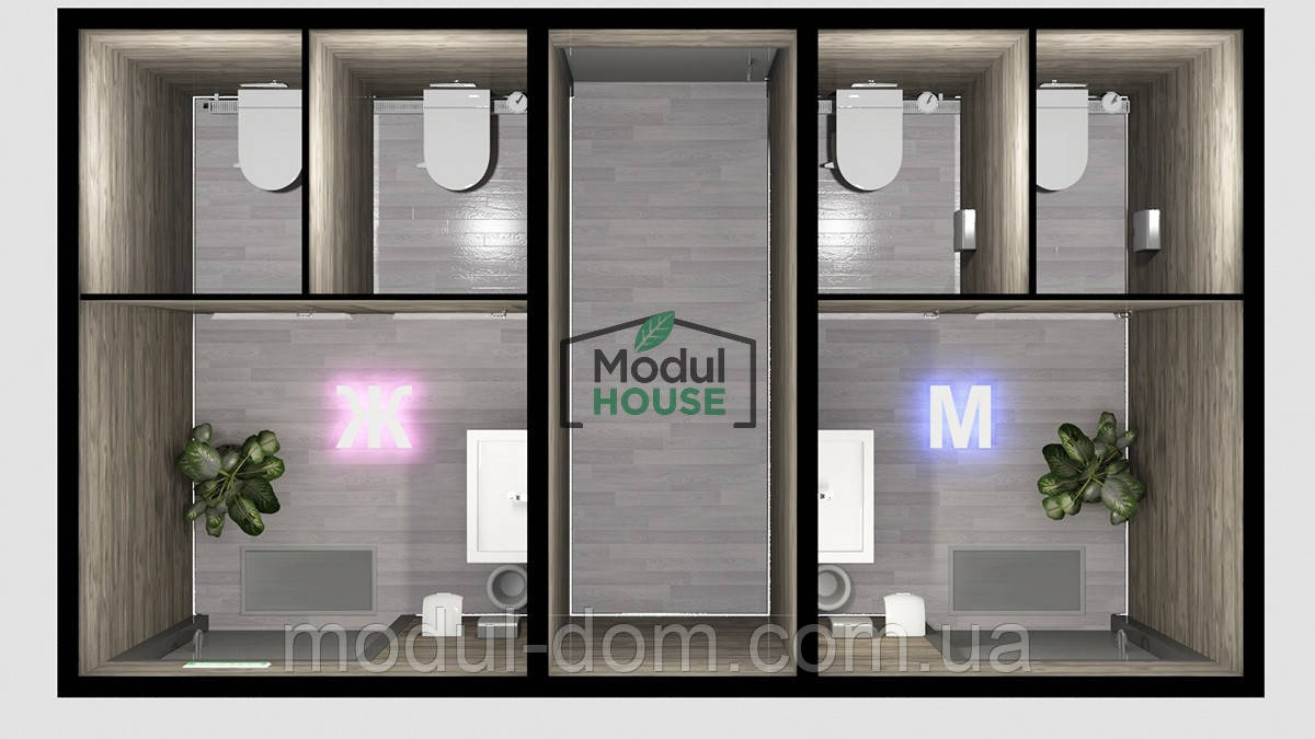 Туалетные модули производство, производство санитарных блоков