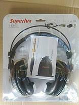 SUPERLUX HD-662 Студийные наушники тип Закрытый, фото 2