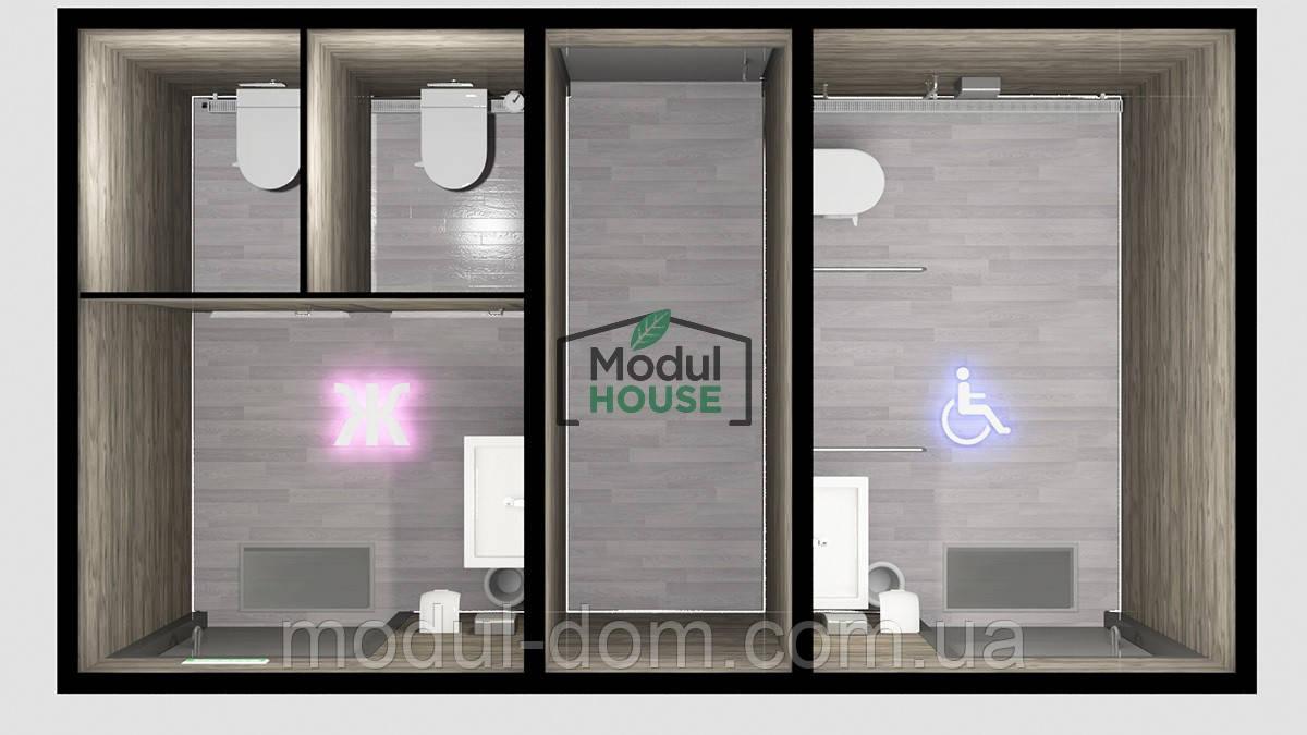 Модульные санузлы, модульный санузел, купить санитарный модуль