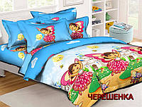 Детский комплект из Ранфорса №17680 Черешенка™