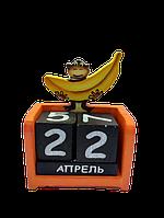 Вечный календарь Обезьянка размер 16*10*5