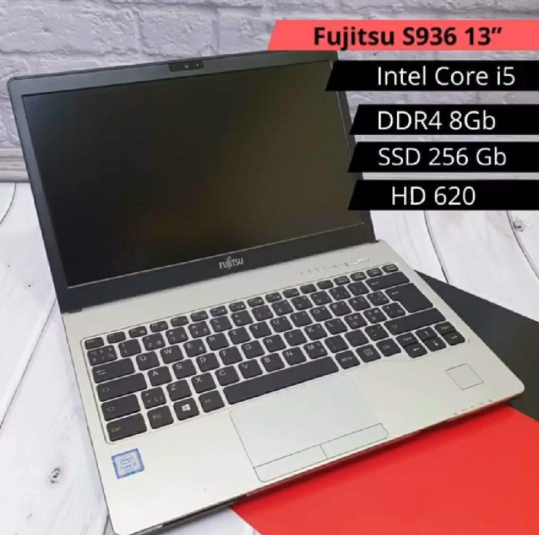 Ноутбук FujitsuS936 13 ( Intel Core i7-7600U 4x2.90 Ghz /DDR3 16 Gb/ M.2 512 Gb/UHD 620)