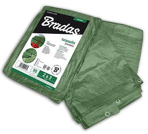 Тент водонепроницаемый Bradas Польша Green, 90 гр/м², размер 4 * 6м, PL904/6