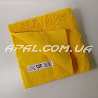 CARTEC Мікрофіброва серветка (м'яка, жовта) Microfiber Cloth Ultra-Soft Yellow, 40х40см