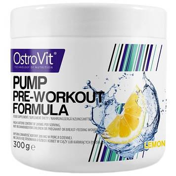 Предтренировочный комплекс PUMP Pre-Workout Formula (300 g) OstroVit