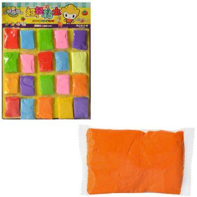 Масса для лепки MK 1084 10г,(2000шт) 20 шт (7цветов) на листе 42-29-2 см