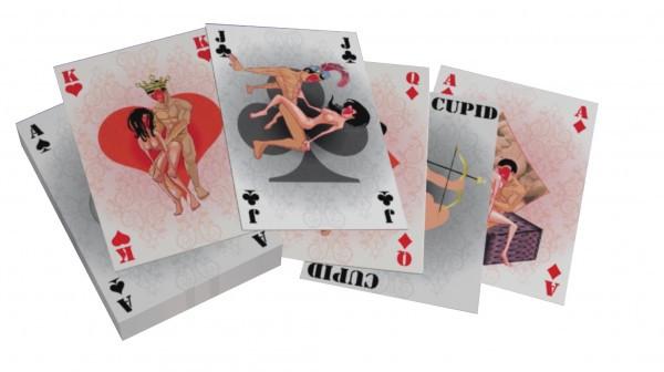 "Карты - Spielkarten ""G Kamasutra"" mini, 54 карты"