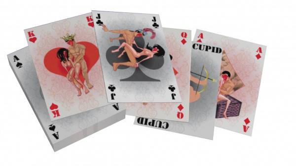 "Карты - Spielkarten ""G Kamasutra"" mini, 54 карты, фото 2"