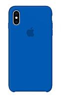 Задняя накладка Hi-Copy Silicone Case APPLE IPHONE X   XS (№3 ROYAL BLUE)