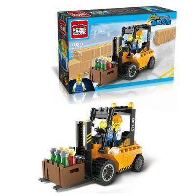 """Конструктор """"Brick """" 1103 (70шт) 115дет, в разобр.коробке 22*4, 5*14см"""